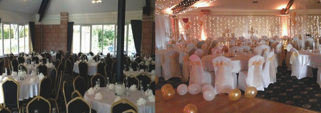 Full Room Draping The Creighton Rugby Club  | Wedding | Cumbria | North West