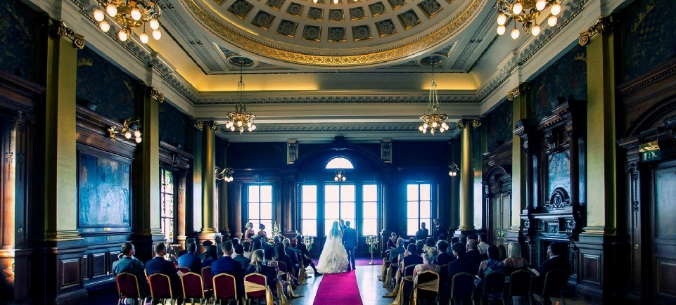 Civic Chambers Wedding Edinburgh by Roses and Hearts Boutique Events | Venue Dressers Scotland
