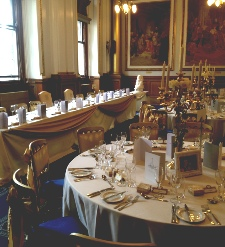 Ivory (buttermilk) round table linen to Hire | Carlisle | Cumbria | Lake District | Wedding | Event