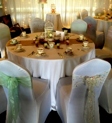 White Table Linen to Hire | Carlisle | Cumbria | Lake District