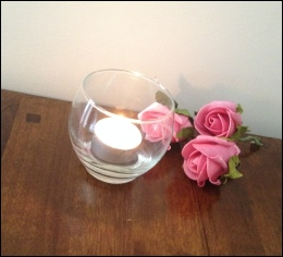 Glass Votive Holder 7cm to hire | Centre Pieces Wedding | Events | North  Yorkshire | Carlisle | Cumbria |  Luxury Weddings