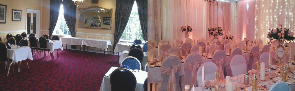 Full Room Draping transformations at Gretna Chase Hotel  | Wedding | Cumbria | North West