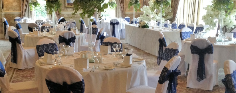 Inn on the Lake | Navy and White | Lake District Wedding Venue Decorators | Cumbria | North West | North East | Gretna