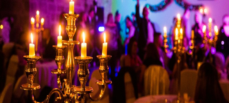 Candlelight Wedding at Langley Castle| Carlisle | Cumbria | UK | Venue Dressers